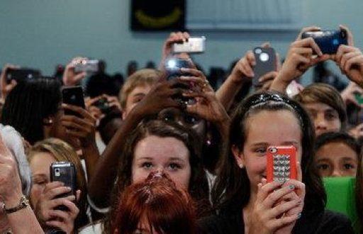 Teléfonos celulares y el cuidado
