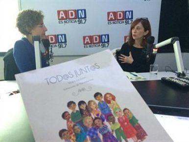 """Vinka Jackson presenta voces infantiles diversas en su libro """"Todos juntos"""""""