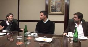 Entrevista a Juan Carlos Cruz, James Hamilton y José Andrés Murillo