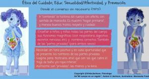 Las partes privadas (cuidado ético y prevención)