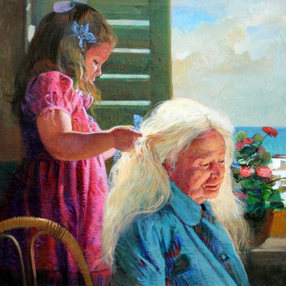 original grandmother and granddaughter